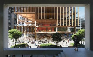 """""""Mass timber is the viable alternative.""""  There are many ways to reduce the environmental load in the building sector.  They include dense urban infill and multimodal transportation, more sustainable supply chains and construction practices, electrification of heating and cooling, and better building performance (efficient heat, light, and air circulation).  But still, the math is clear: It will be a disaster if we try to accommodate a rising, urbanising 21st century population with buildings made of concrete and steel, just as it will be a disaster if we try to do it with energy generated from fossil fuels.  Mass timber is the viable alternative. It cuts down on waste and costs, opens up the possibility of factory-based mass production of low-cost housing, and has sparked the interest and creativity of the building community at large.  Some advantages of mass timber:  1. It performs well in fire (yep, you read that correctly)  2. It reduces carbon emissions 3. It allows buildings to be constructed faster, with lower labour costs and less waste 4. It is fantastic in earthquakes 5. It is aesthetically appeasing 6. It's better for our health and well being  7. It can help pay for good forest management on public land 8. It can create jobs in struggling rural areas  Want to find out more? Call the leaders in MTC. Savcon: +61 2 89649383.  📷 Pictured here: T3 Bayside in Toronto, Canada. Set to be completed this year, it will be the tallest timber office tower in North America. . . . . . . . . #savcon #savcondelivers #carpentry #building #construction #masstimberconstruction #timber #wood #craft #specialist #sustainable #environmentallyfriendly #biophilia #natural #living #breathing #architecture #decorate #interiors #exteriors #buildingfacades #highrise #mtc #glulam #masstimber #leaders #expansion #growth"""