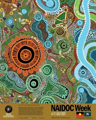 """NAIDOC Week celebrations are upon us and we all celebrate the history, culture and achievements of Aboriginal and Torres Strait Islander peoples.  For many years, Savcon has supported national NAIDOC celebrations through our commitment to being a registered member of Supply Nation, where we can fulfill requirements by builders wanting to include indigenous business in their supply chain.  The 2021 theme for NAIDOC week is """"Heal Country"""". It calls for stronger measures to recognise, protect and maintain all aspects of Aboriginal and Torres Strait Islander culture and heritage, including but not exclusive to family, kin, law, lore, ceremony, traditions and language. Greater protections for land, water, sacred sites and cultural heritage from exploitation, desecration and destruction. Values Savcon supports.  Image: 2021 National NAIDOC poster, courtesy of Maggie-Jean Douglas, titled 'Care for Country'.  . . . . . . . . . . #savcon #savcondelivers #naidoc #naidocweek #aboriginal #torresstraightislander #healcountry #supplynation #carpentry #building #construction #masstimberconstruction #timber #wood #craft #specialist #sustainable #environmentallyfriendly #biophilia #natural #living #breathing #architecture #decorate #interiors #exteriors #buildingfacades #workwell #livewell #growth"""