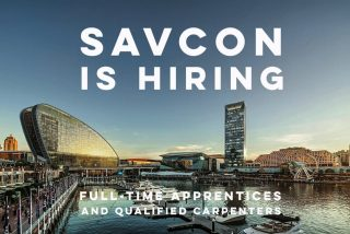 Savcon is hiring full-time apprentices & qualified carpenters for immediate start.  Send your CV to careers@savcon.com.au . . . . . . . . #savcon #savcondelivers #carpentry #building #construction #masstimberconstruction #timber #wood #craft #specialist #sustainable #environmentallyfriendly #biophilia #natural #living #breathing #architecture #decorate #interiors #exteriors #buildingfacades #workwell #livewell #hiring #job #work #career #employment #opportunity