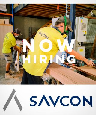 NOW HIRING   Savcon is looking for a full time qualified carpentry estimator to join our team.  As part of the team you will be required to estimate mass timber, commercial carpentry fit-outs and other large scale work.   Please forward resume to careers@savcon.com.au  Visit our website to view completed jobs www.savcon.com.au  #savcondelivers . . . . . . . . #savcon #careers #carpentry #building #construction #masstimberconstruction #timber #wood #craft #specialist #sustainable #environmentallyfriendly #biophilia #natural #living #breathing #architecture #decorate #interiors #exteriors #buildingfacades #workwell #livewell #growth #expansion #team #estimator #work #friends