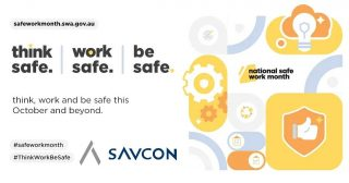 """October is National Safe Work Month—a time to commit to building a safe and healthy workplace.  During October each year, we remind ourselves of our commitment to safe and healthy workplaces and practices for all Savcon employees.   Being healthy and safe means being free from physical and psychological harm. No job should be unsafe and no death or injury is acceptable. A safe and healthy workplace benefits everyone.  The theme for National Safe Work Month this year is""""think safe. work safe. be safe.""""  At Savcon, safety is paramount. . . . . . . . . #safeworkmonth#ThinkWorkBeSafe #safetyfirst #safe #staysafe #workwell #livewell #savcondelivers #carpentry #building #construction #masstimberconstruction #timber #wood #craft #specialist #sustainable #environmentallyfriendly #biophilia #natural #living #breathing #architecture #decorate #interiors #exteriors #buildingfacades #family"""